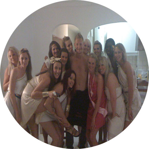 cocktails and butler vilamoura hen party